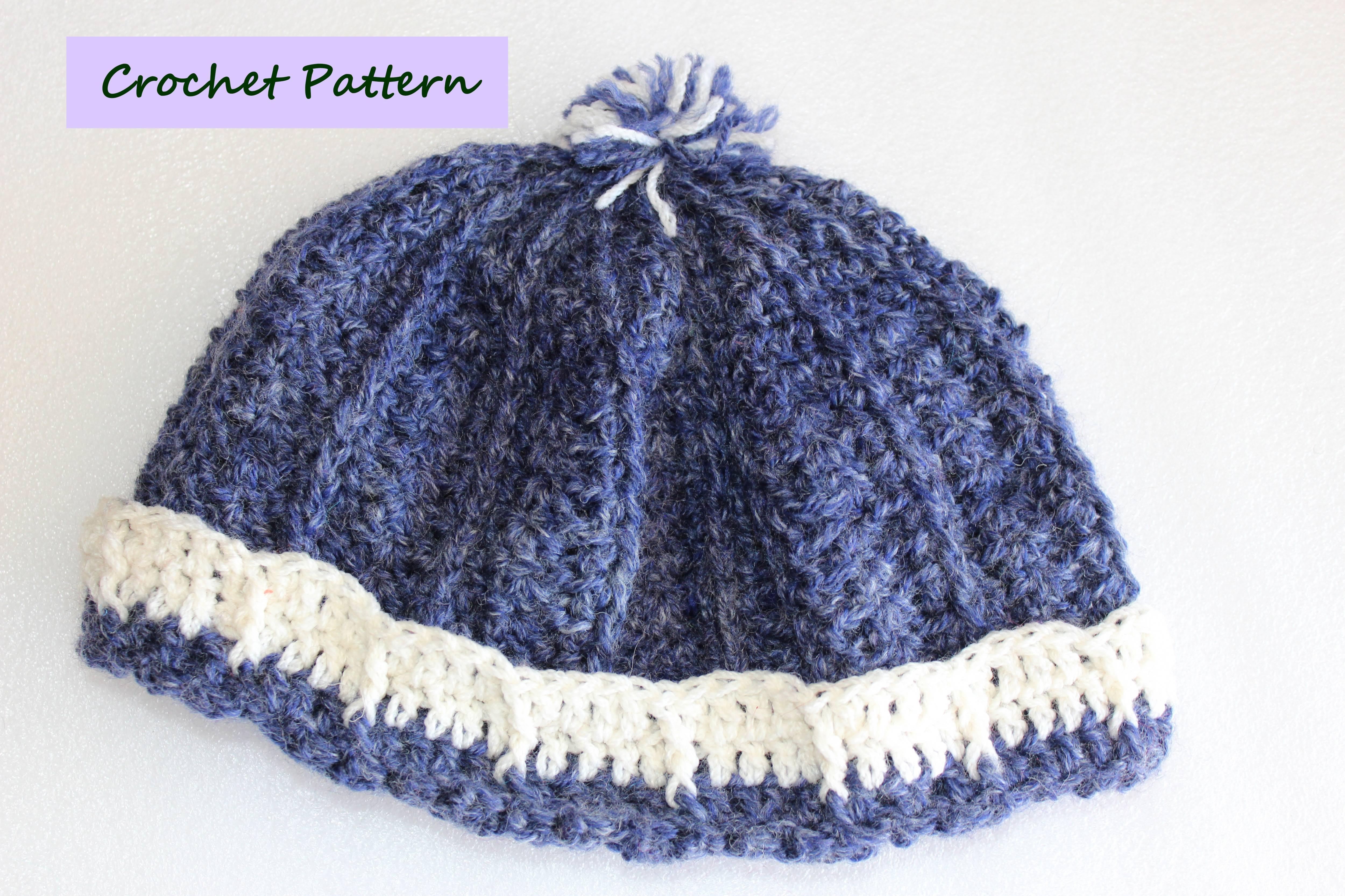 EasyFit Beanie Crochet Pattern