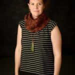 Brown Infinity Scarf, Crochet Cowl