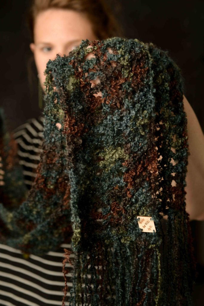 Luxury scarf, Boho scarf