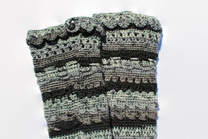 PDF DOWNLOAD, Fancy Crochet Socks