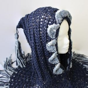 Western-style Fringed Hood, Tassel