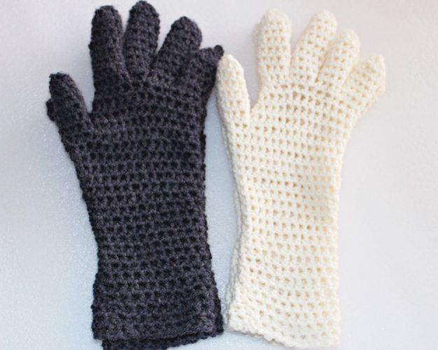 Ladies EasyFit Fingered Gloves - both