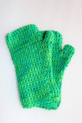 Inside Out Mitts - Green