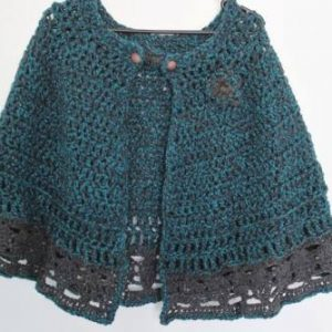 Nordic Cape Crochet Pattern