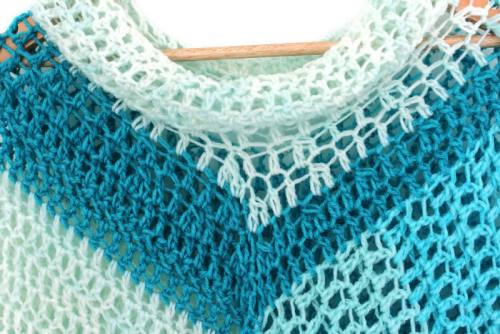 Wear a Blanket Poncho - Teal