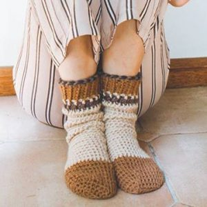 Cozy Comfy Cuff Socks - Winter or Summer