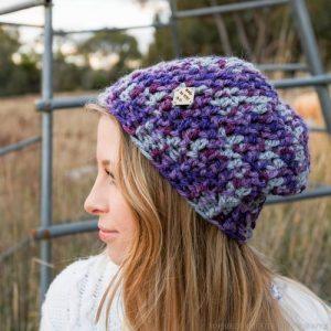 Purple Valley Beanie