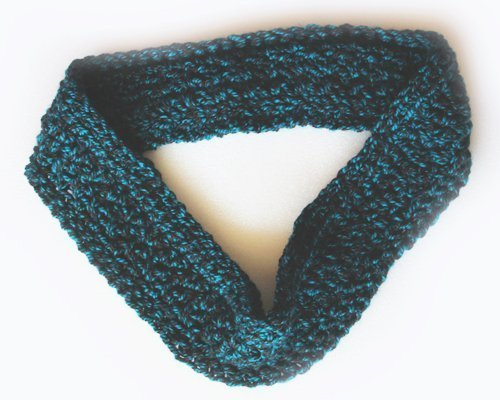 Funhouse Set in Nordic Teal - Infinity Scarf