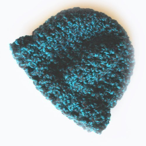 Funhouse Set in Nordic Teal - Slouchy Beanie