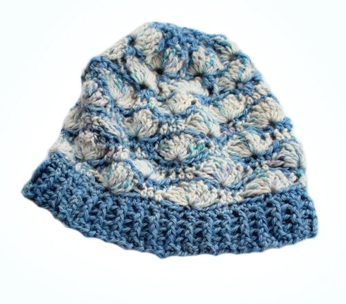 Shell B Mine Beanie - Super soft and comfortable = Paca Perfect