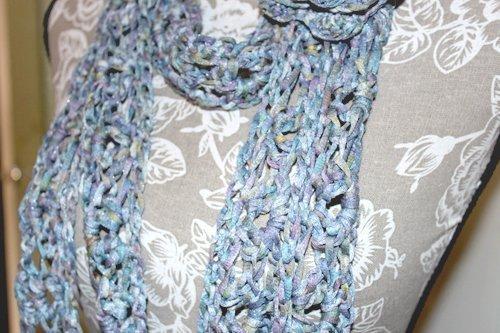 Batiko Scarf - Close up of fabric