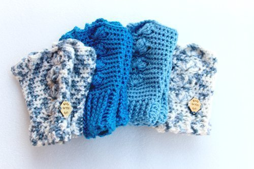 All the Blue Shells Mitts - stacked