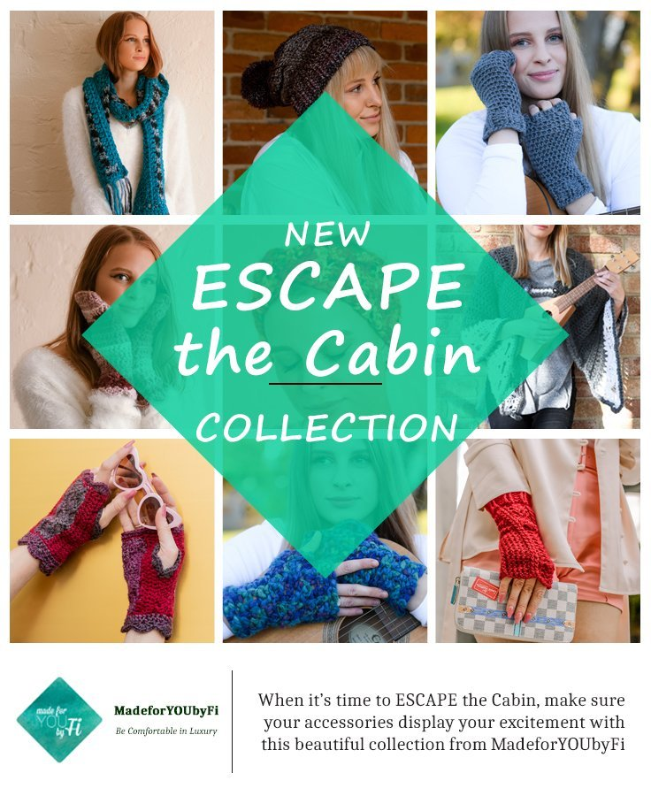 Escape the Cabin Collection - collage of 9 of the offered products
