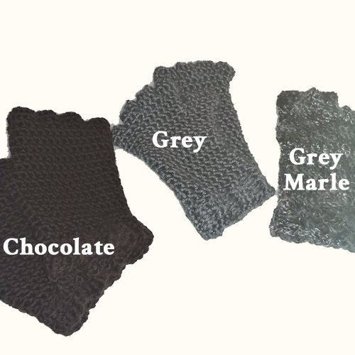 Finger Gloves - all the colors - flat lay